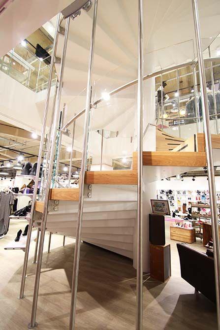 Republic contemporary staircase