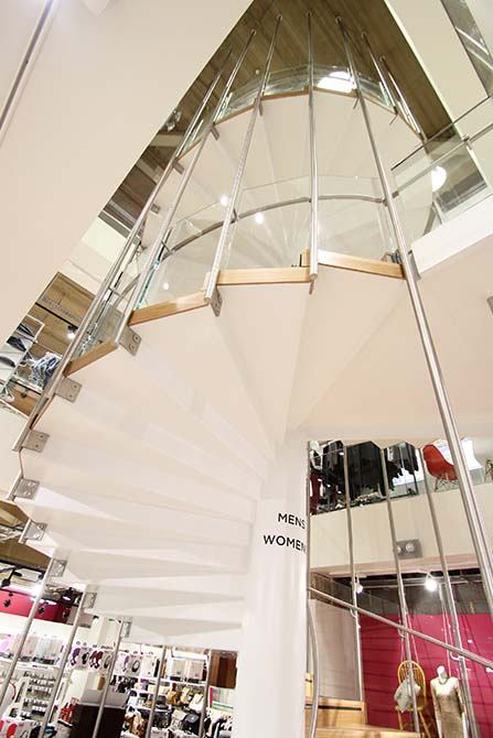 Republic feature staircase