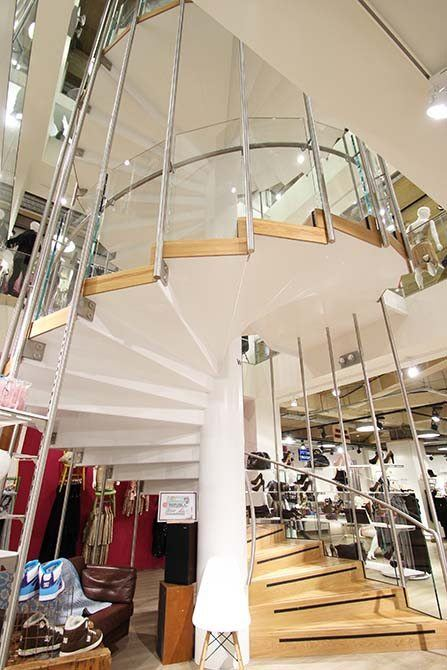 Republic feature stairs