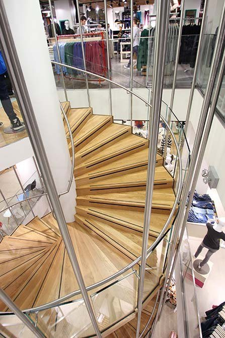 Republic glass steel staircases