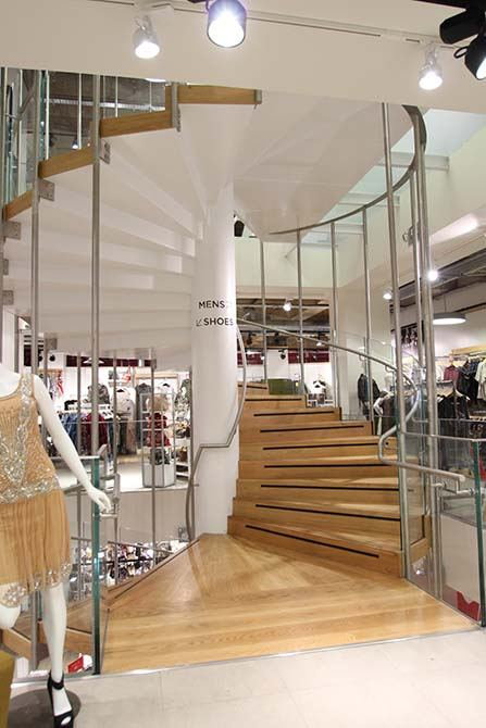 Republic stainless steel glass balustrade