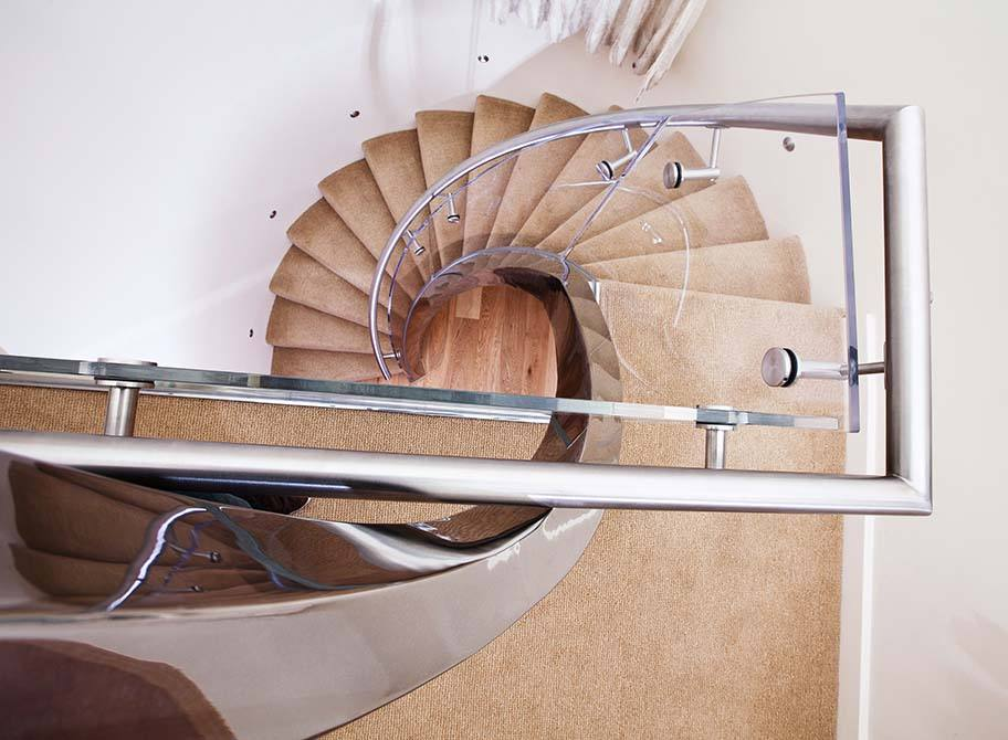 Villaise-helical-staircase