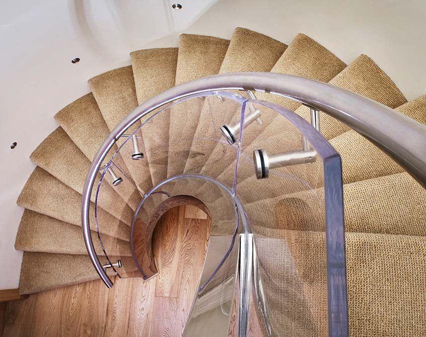 Villaise spiral staircase