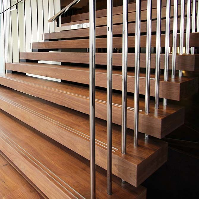 Suspended Style 32 Floating Staircase Ideas For The: Shard: Impressive Feature Suspended Staircase