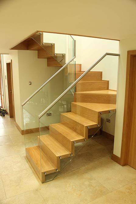 Zig Zag Staircases Design Installation Canal Architectural