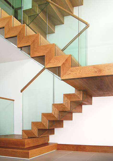 Folded Zig Zag Staircases