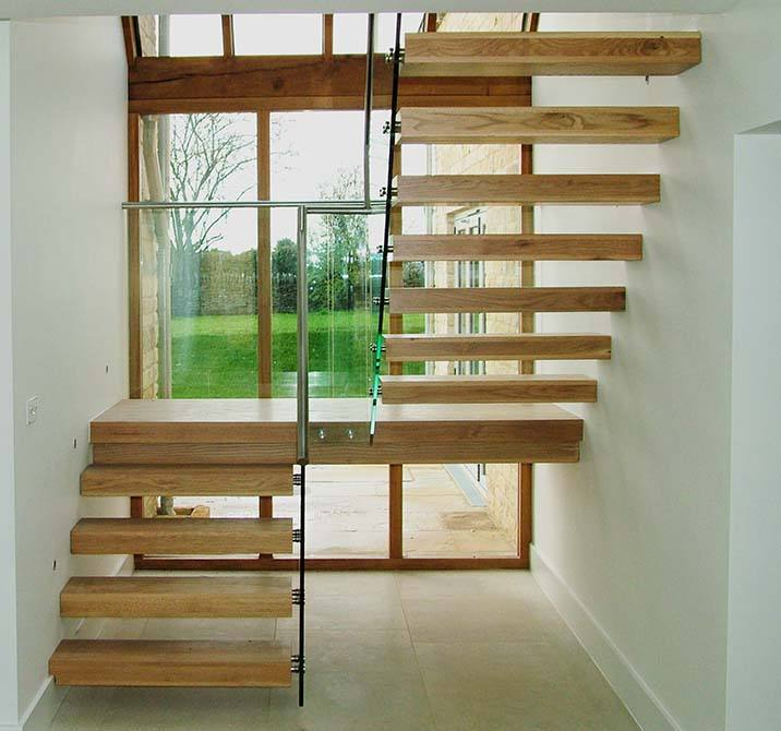 Staircase Regulations Uk >> Open Riser Staircases | Open Riser Stairs | Canal Architectural