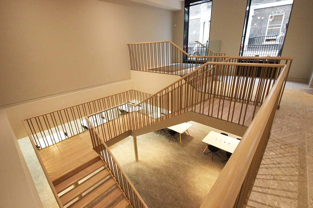 st james balustrades straight staircase