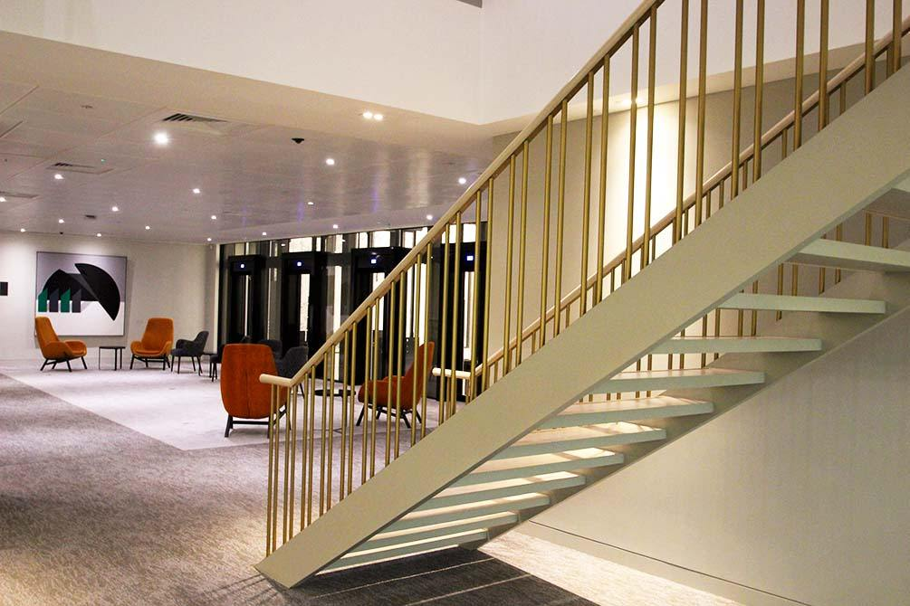 st james straight staircase