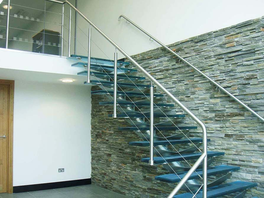Central Spine Staircases