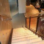 Nike timber handrail
