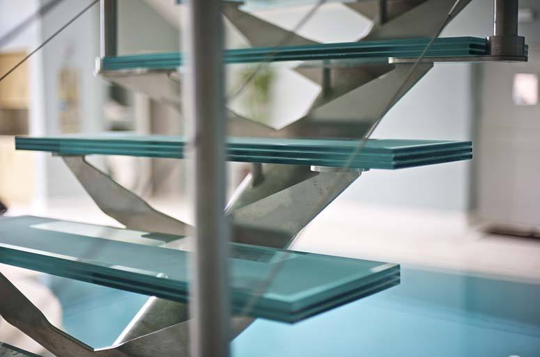 Charmant Glass Stair Treads Glass Staircase Triple Laminated Glass