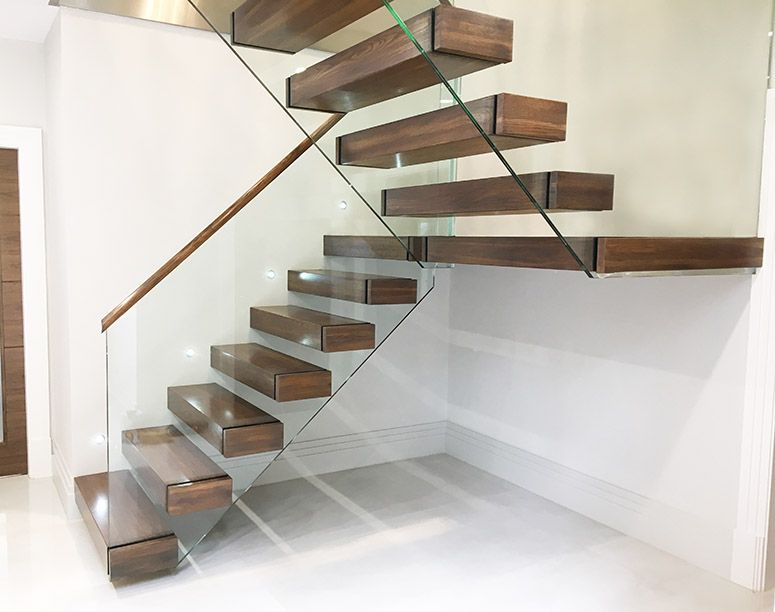 Cantilever Staircase Float Gl Barade