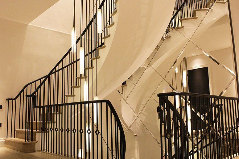 Helical-Staircase-mild-steel-handrail