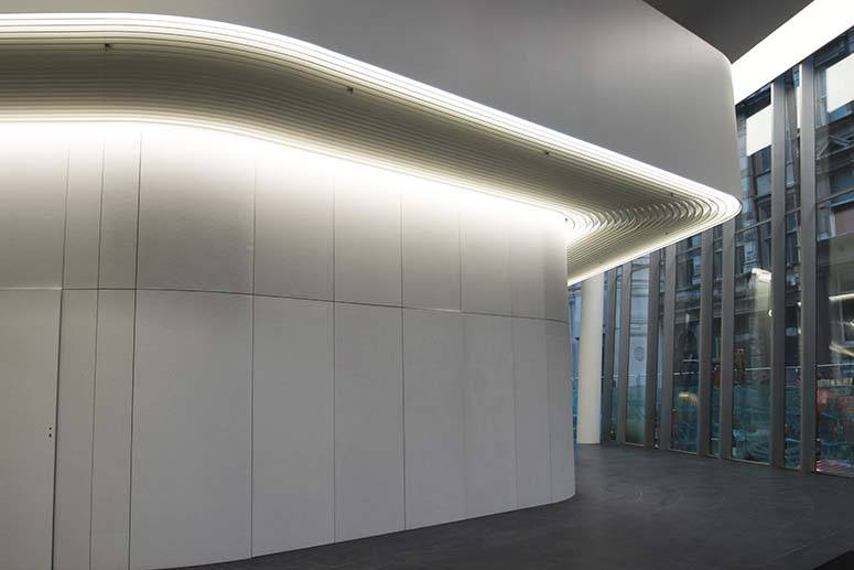 white stainless steel balustrade angel court