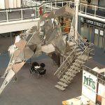 Exhibition Architectural Steel Sculpture