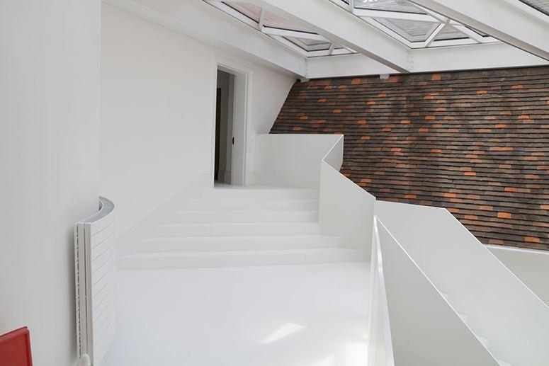 bespoke white staircase