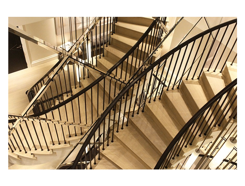 Hans Place staircase project