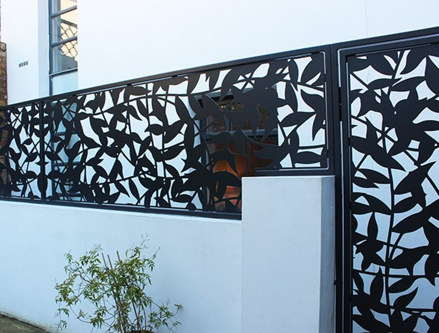 Balcony Garden Planters Privacy Screens