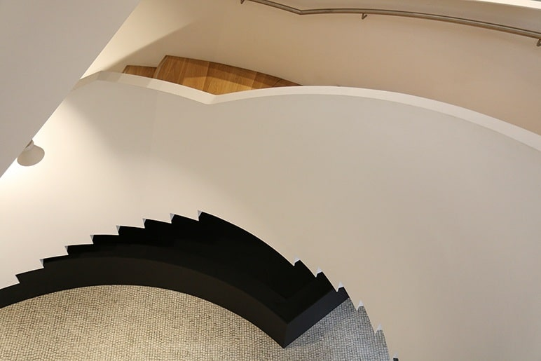 Commercial Feature Helical Staircase
