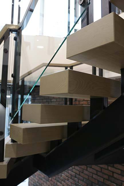 L-shaped Winder staircase