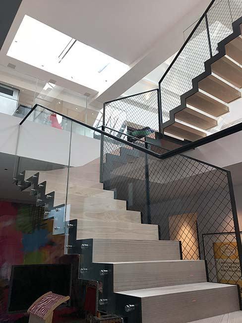 Glebe Bespoke Mild Steel Staircase