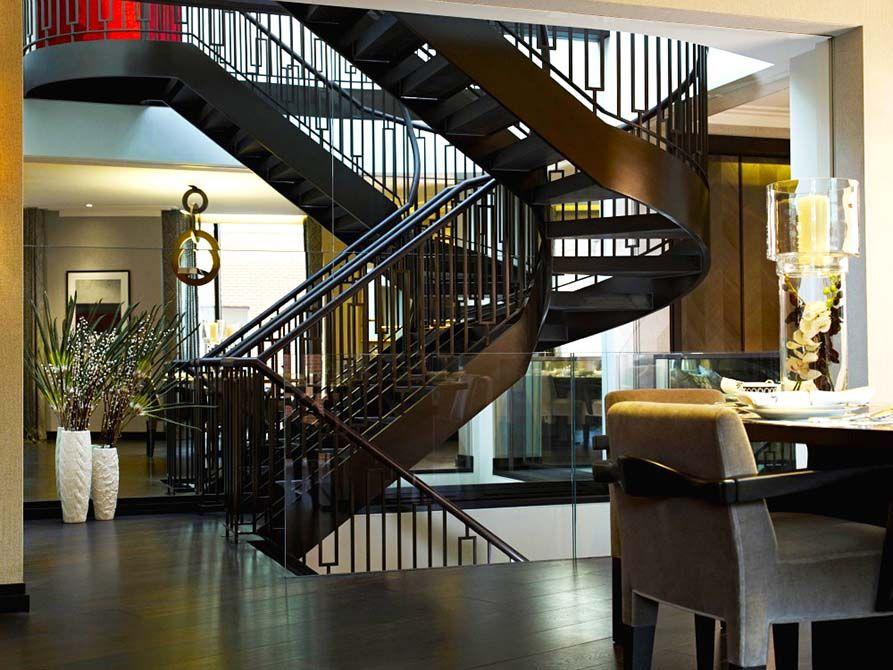 Bespoke Metal Staircase