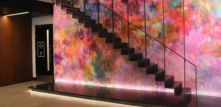 Phipps Street straight staircase