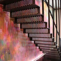Phipp Street straight staircase design